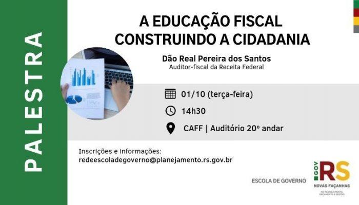 Educação Fiscal e Cidadania é tema de palestra para servidores