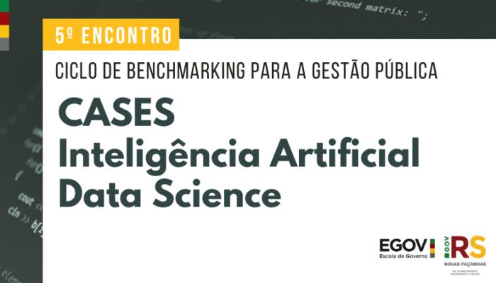 Experiências do governo do Paraná em Análise de Dados e Inteligência Artificial são abordadas em ciclo de debates da Seplag