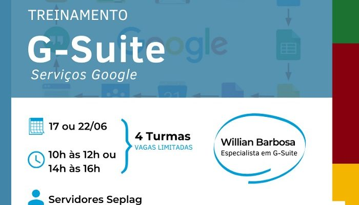 Treinamento G Suite: Ferramentas do Google