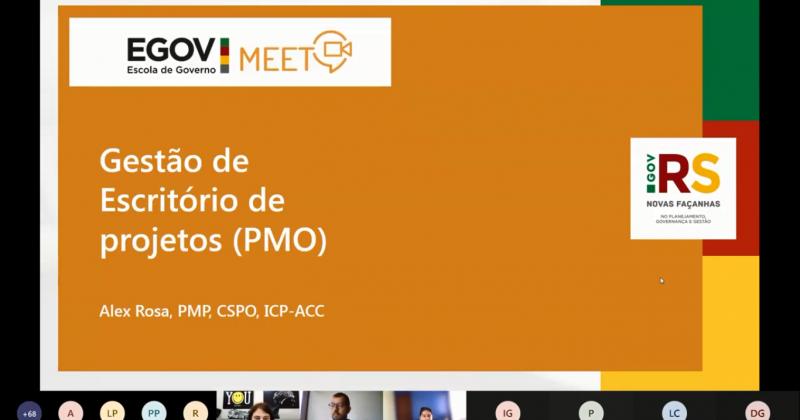 EGov Meet: Gestão de Escritório de Projetos – PMO