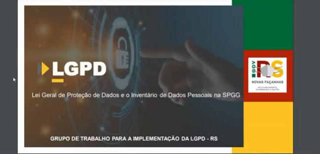 Egov Meet – Lei Geral de Proteção de Dados e Inventário de Dados na SPGG