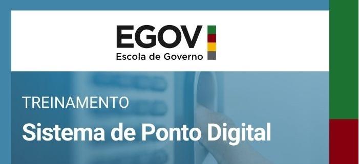 SPGG oferece treinamento sobre o Sistema de Ponto Digital