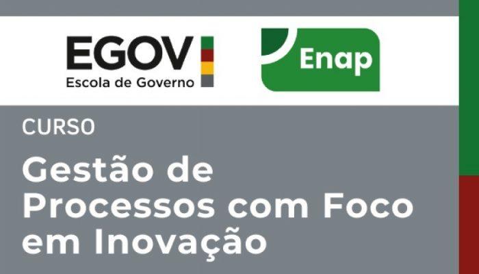 Curso de Gestão de Processos com Foco em Inovação está com inscrições abertas