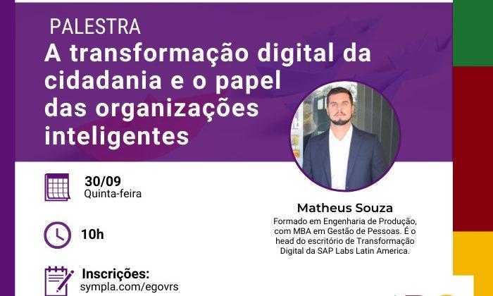 LabTech Talks: A transformação digital da cidadania e o papel das organizações inteligentes
